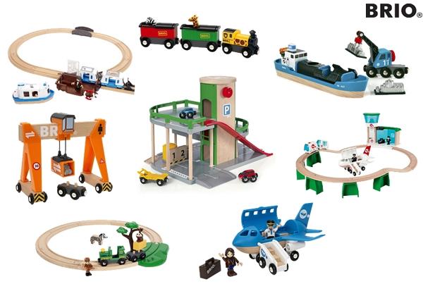 Houten speelgoedtreinen