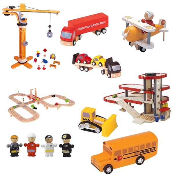 Houten speelgoed plantoys